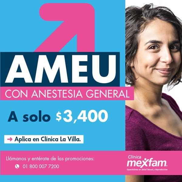 MEXFAM LA VILLA AMEU anestesia general