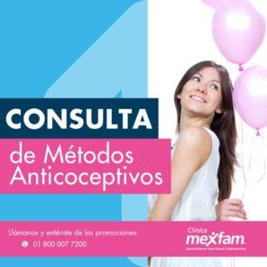 MEXFAM LA VILLA metodos anticonceptivos