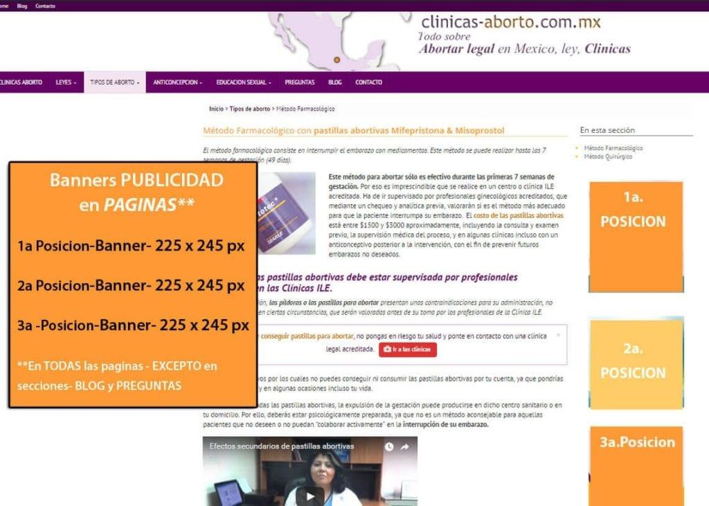 Clinicas-Aborto.com.mx- EXTRAS-BANNERS publicidad en PAGES