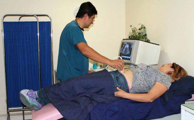 ¿Cómo es el saco gestacional en un aborto de 6 semanas?