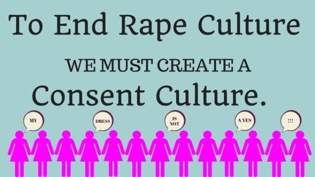 campaña de Tessa y Lia sobre la cultura de la violación