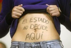 no a la objección de conciencia con el aborto legal