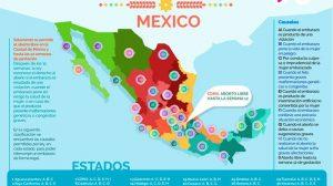 INFOGRAFIA MAPA LEYES DEL ABORTO EN CADA ESTADO DE MEXICO 2019