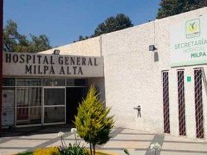 Hospital General Milpa Alta