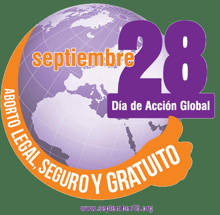 Logo 29 de septiembre día internacional por la despenalización del aborto
