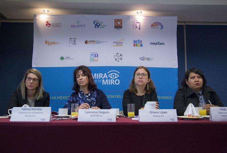 Rueda de prensa de organizaciones de la sociedad civil