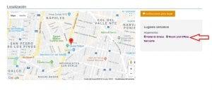 Localización de clínicas ILE y recomendación de hoteles cercanos