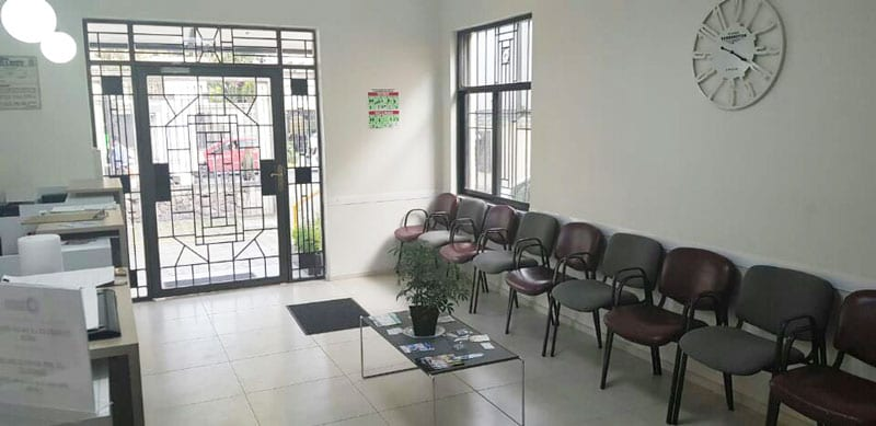 Ecofem Lindavista sala de espera