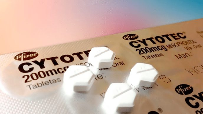 Pastillas abortivas Cytotec- misoprostol