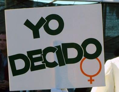 Yo decido: consigna del movimiento abortista en México