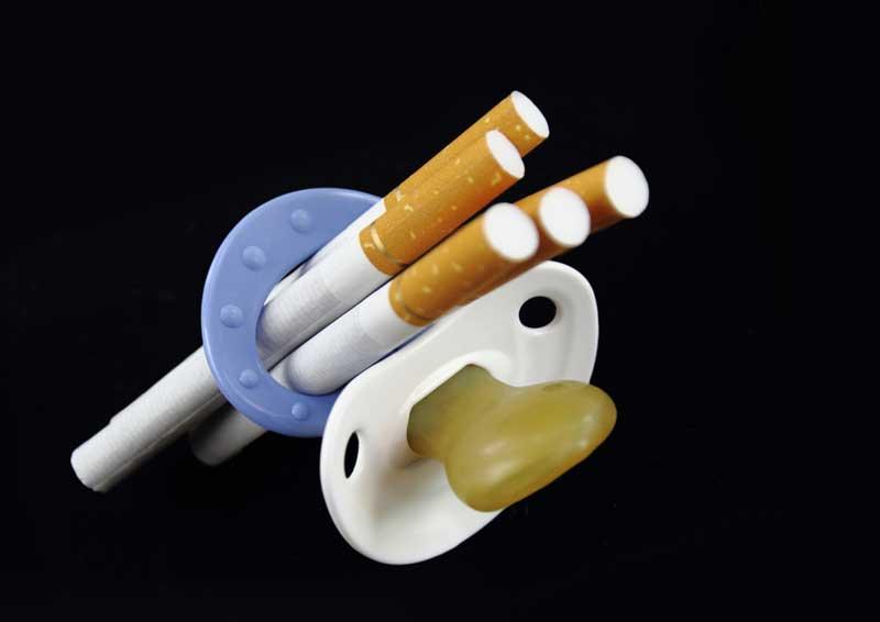 Tabaco y embarazo, El tabaco durante el embarazo. Riesgo de aborto