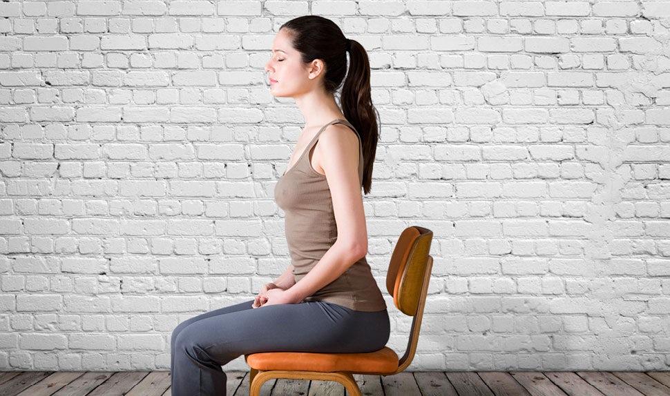 ejercicios de kegel sentada en silla