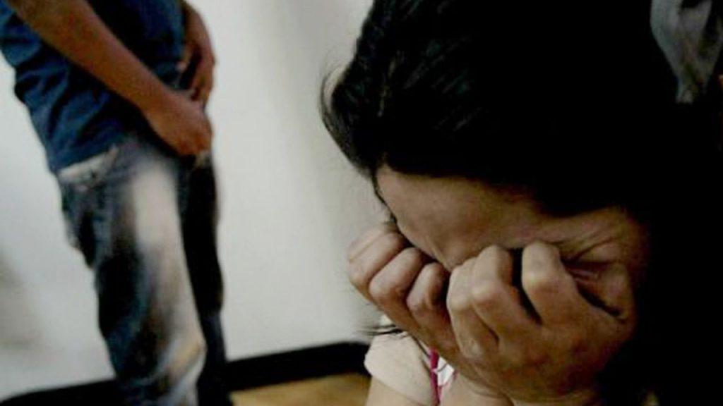 mujer maltratada por su pareja