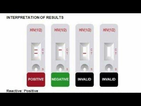 Prueba rápida de VIH