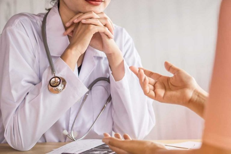 Consulta con Doctora