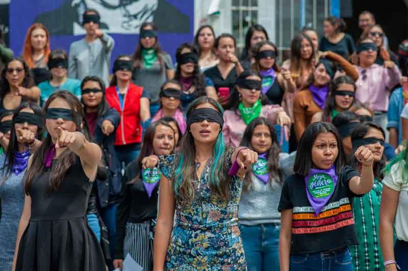 Manifestaciones del 8 de marzo: Dia Internacional de la Mujer en Mexico